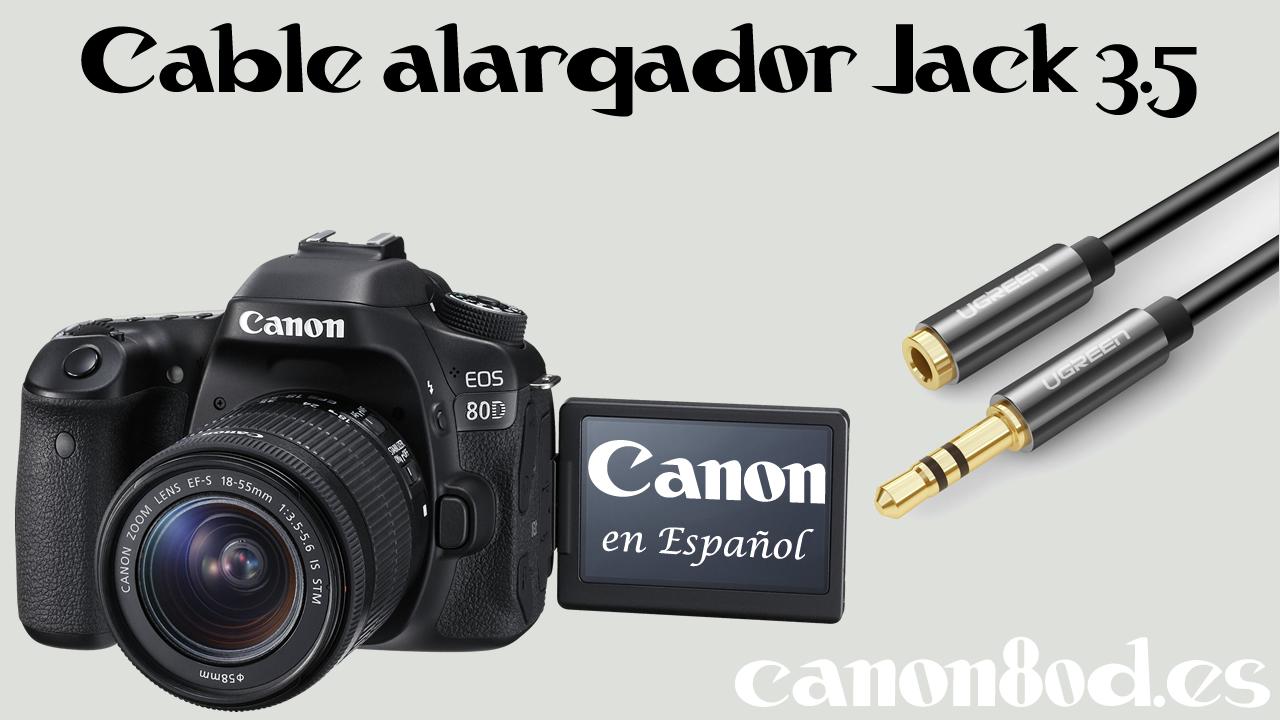 Cable alargador Jack 3.5